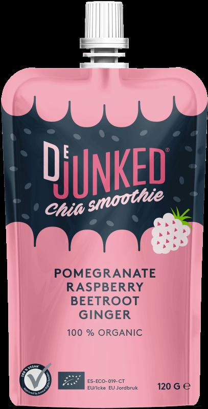 dejunked pomegranate