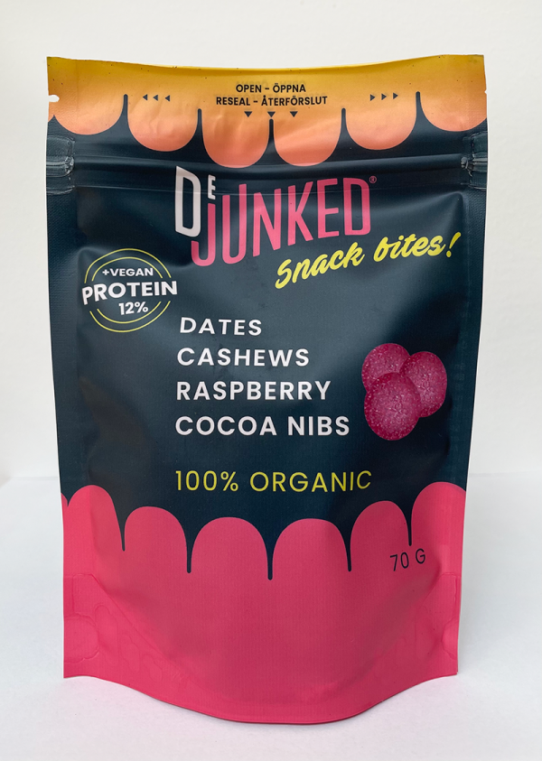 Snack bites single pouch